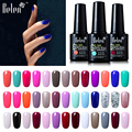 Belen 10ml Nail Color UV Gel Polish Gradient Nail Gel For LED Nail Polish Based Nail Lacquer Primer Gel Top Coat Art