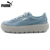 Original New Arrival 2018 PUMA Suede Platform Trace Wns Women S Skateboarding Shoes Sneakers