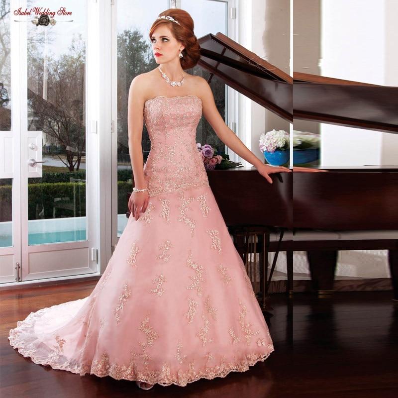 Vintage Strapless Vestido De Novia De la boda vestidos 2015 Hot Sale ...