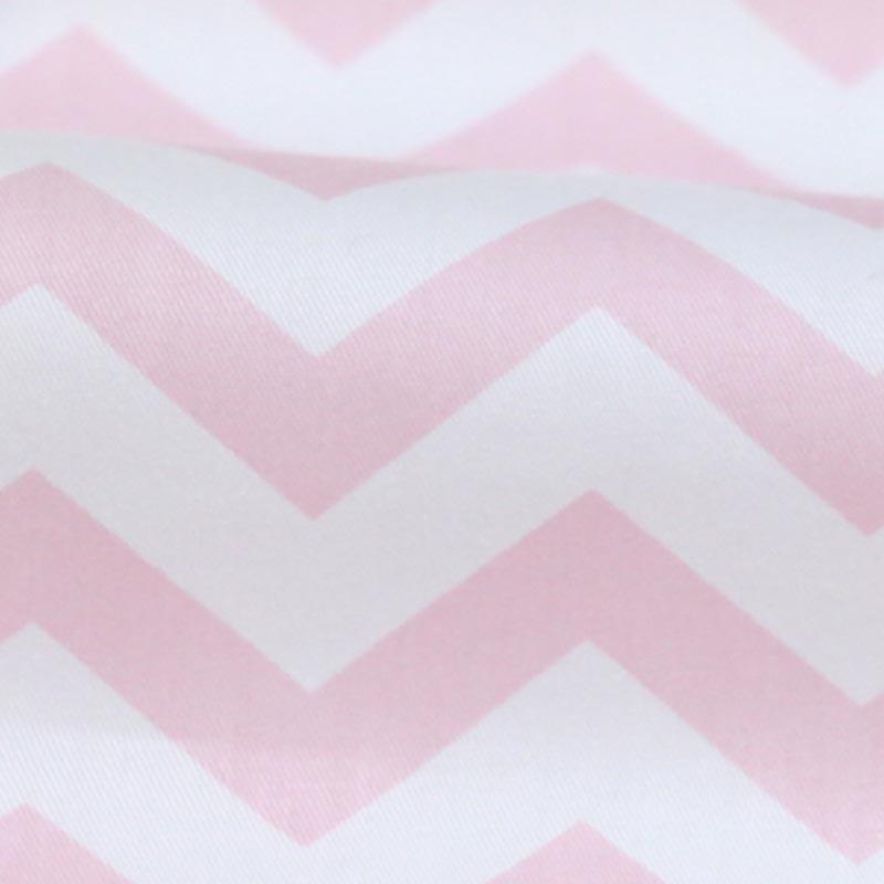 100% Cotton Twill Nordic Wind Geometric Rubber Pink Diamond Lattice Cloth Fabric For Bedding Handwork Telas Quilting Patchwork Fabric