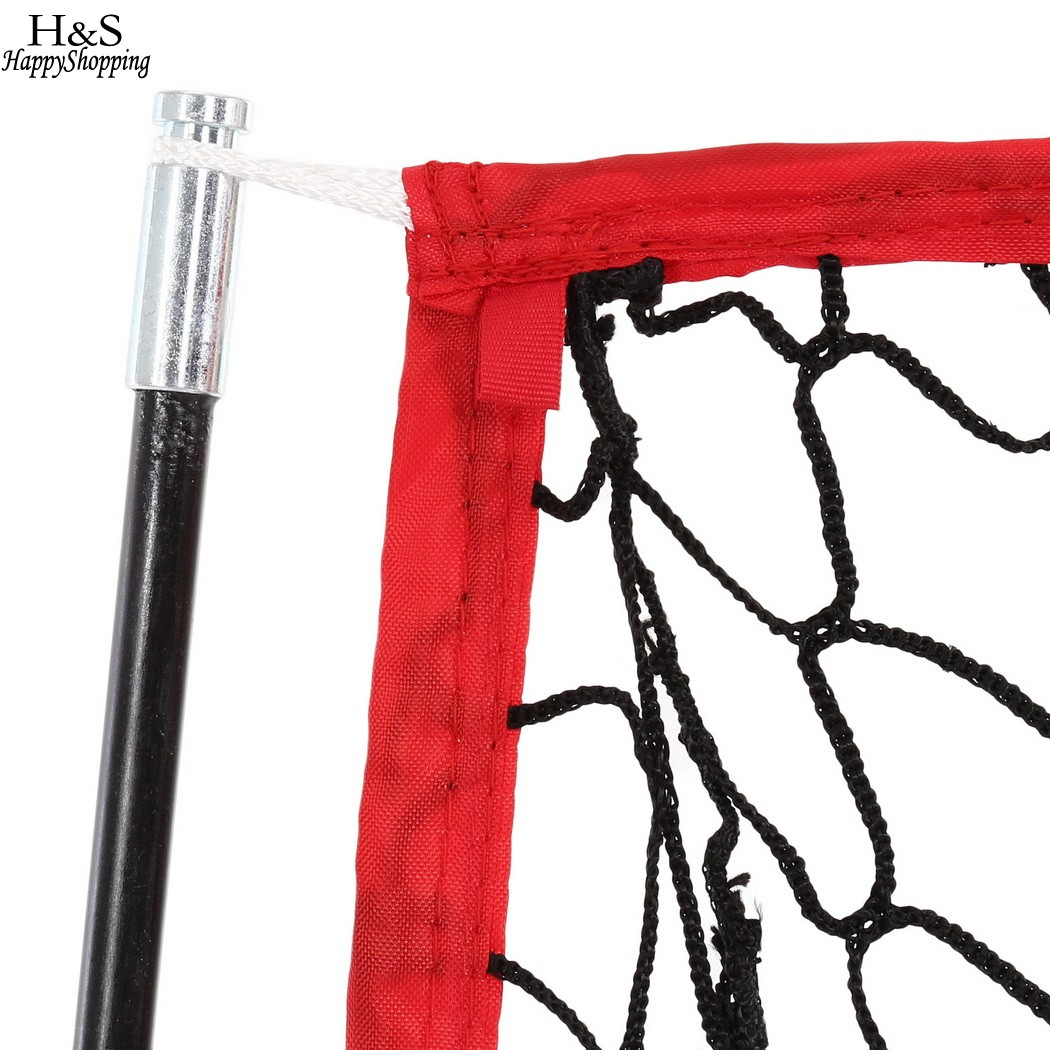 Hohe Qualität 5 x 5ft Baseball Praxis Net mit Bogen rahmen ...
