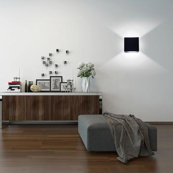 Room Scene with un-dimmed black Square Rail