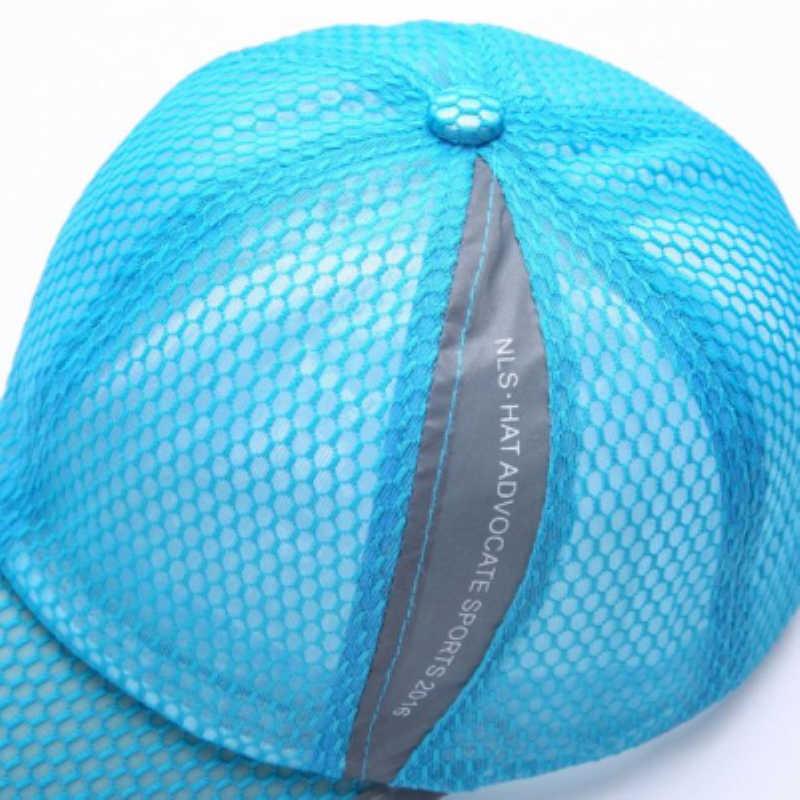 Açık Güneş Koruyucu beyzbol şapkası Erkekler kadınlar rahat Güneş Koruyucu beyzbol şapkası Yetişkin örgü şapka Hızlı Kuru Katlanabilir güneş şapkası