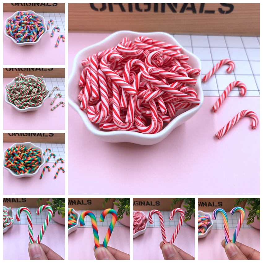 Hot Selling Cute Kawaii Christmas Candy For Crafts Making, Phone Deco, Scrapbooking, DIY Accessories