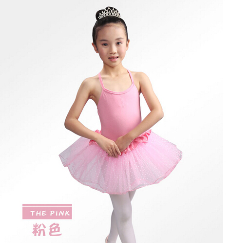 Free shipping 100-150CM pink purple black ballet tutu children dance Dance Costume Girls ...