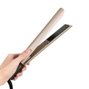 Image 5 - AOFEILEI plancha alisadora de pelo profesional, rizador de pelo 2 en 1, alisador de pelo, planchas planas de cerámica