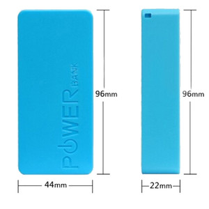 Image 2 - 5600mAh 2X 18650 USB Power Bank Battery Charger Case DIY Box For iPhone For Smart Phone MP3 Electronic Mobile Charging
