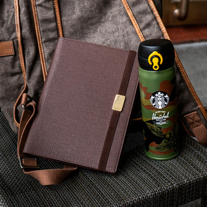 Image 3 - A5 C5 Business affairs High grade Office Leather surface Removable Spiral Loose leaf Notebook 6 Holes Multifunctional Notepad