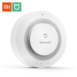 Original Xiaomi Mijia Fire Alarm Gas Detector Smoke Progressive Sound Alarm Support Remote Control APP Smart Home Security