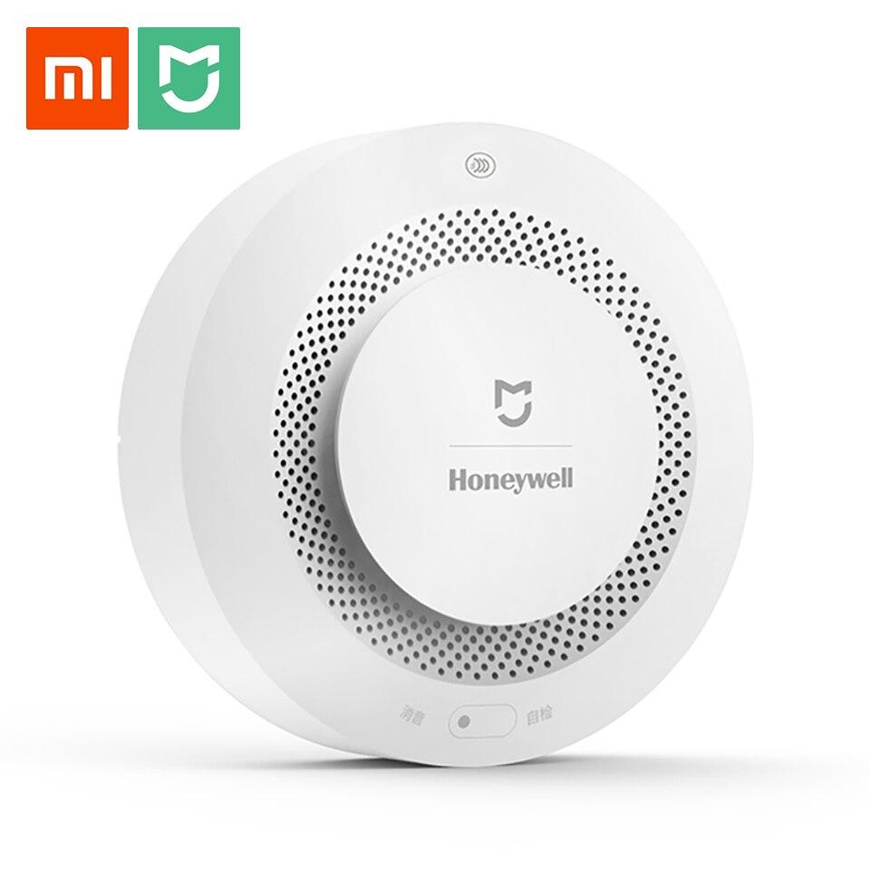 Original Xiaomi Mijia alarme incendie détecteur de gaz fumée Progressive alarme sonore Support télécommande APP Smart Home sécurité