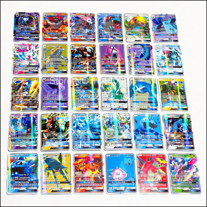 Image 3 - 200 Pcs GX EX MEGA pokemones Cards Game Battle Carte 324pcs Trading Cards Game Children Toy-in Game Collection Cards from Toys & Hobbies