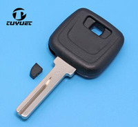 10PCS/ 20PCS Transponder Key Shell For Volvo S80 XC90 With Middle Groove On Blade Replacement Car Key Blanks Case