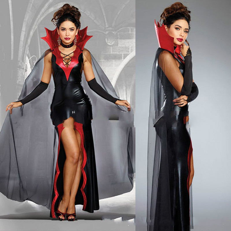 6bd3cb0dbd2 US $16.44 45% OFF|Halloween Costume For Kids Sale 2017 Adult Female Vampire  Halloween Hot Dance Party Cosplay Terrorist Ghost Bride Dress Clothes-in ...