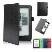 PU Leather Flip Cover Case For Kobo Glo HD EBook Case Ultra Slim Magnet Smart 6