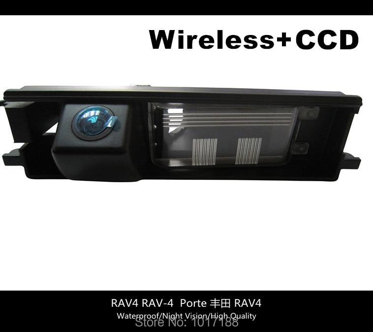 HD WIFI camera Wireless Car Rear View Camera CCD Chip For Toyota RAV4 RAV 4 Porte