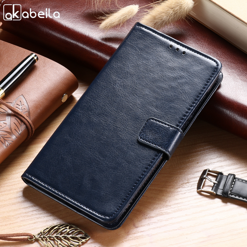 AKABEILA Cases For Xiaomi Mi6 Mi 6 Case For Xiaomi Mi6 5.15 inch Leather Wallet Phone Cover Business