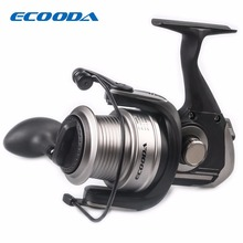 ECOODA 4.3:1Spinning Reel Outdoor CNC Aluminum Fishing Weel 7+1BB Ball Bearing Max Drag 5kg 6000 Serie Fishing Wheel LURE TACKLE