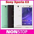 Original Sony Xperia C3 D2533 D2522 S55U Desbloqueado 3G 4G GSM Quad Core Android Smartphone 8MP Cámara 5.5 ''pantalla del teléfono Celular