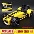 Lepin 21008 Creativo Serie Técnica El Caterham 620R Clásico Coche de Carreras Juego de Bloques de Construcción Ladrillos 21307