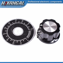 10 sets A03 dial knob + MF-A03 bakelite knob with scale plate sheet scale digital potentiometer hjxrhgal