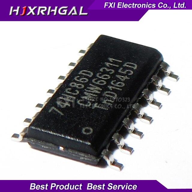 10 قطعة 74HC86D 74HC86 SOP14 SOP SN74HC86DR SN74HC86 جديد الأصلي