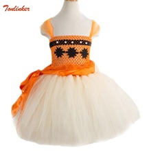 цена на Kids Princess Moana Tutu Dress For Girls Birthday Party Dress Children Lace Flower Girl Dress Infant Halloween Cosplay Costume