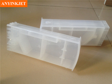 Normal transparent refillable cartridge  with decoder for HP Z6100 printer цена 2017