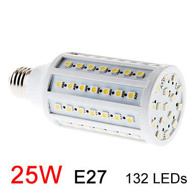 Free shipping high quality ultra bright led corn Bulb Lamp light 110V/220V 15W E27 SMD5050 Warm White/White Factory directsale#