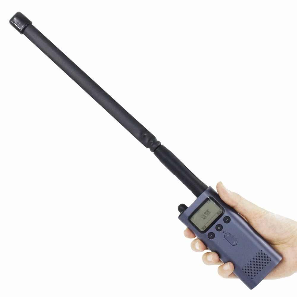 ABBREE SMA-connecteur femelle double bande 144/430 Mhz pliable CS antenne tactique pour Xiaomi Mijia talkie-walkie Radio jambon