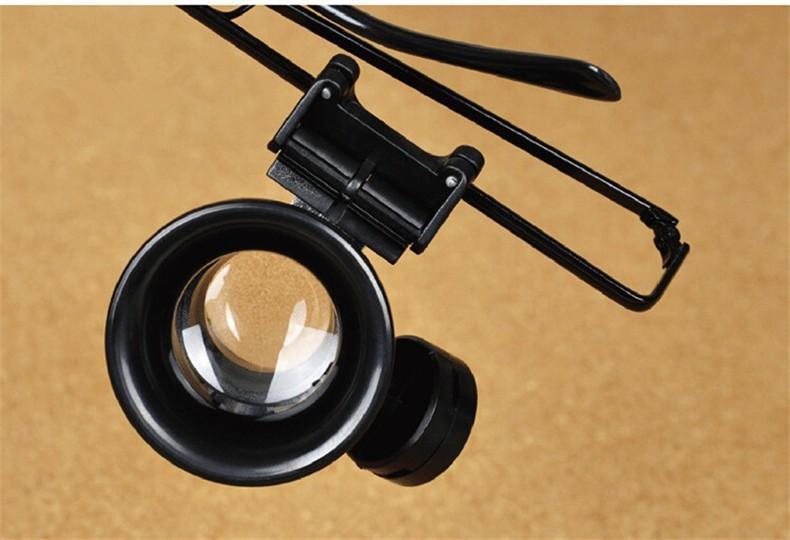 20X Watch Repair Óculos Estilo Lupa Binocular Dental Lupas Com Luzes LED  Óculos Lupa com caixa. 42  790 hash 8978f7af9822. h a5af837abd45 f2 f219a b4450ed893