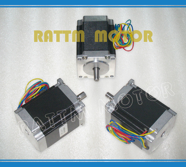 EU ship /free VAT 3PCS NEMA23 23HS8430 76mm 270 Oz-in 1.8N.m 3A stepper motor stepping motor for CNC Router Milling 3D printer
