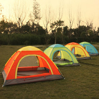2 Seconds Speed Open Tent Outdoor Tent 4 3 Full Automatic Tent Family Multiplayer Folding Camping Fishing Tent