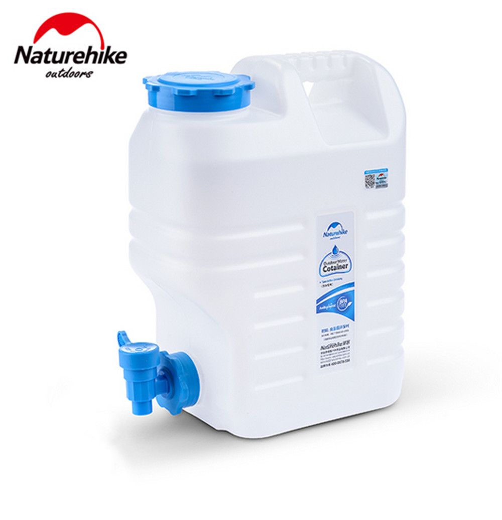 Tank Bottle Water Storage Container With tap Camping Travel Water Bucket Outdoor