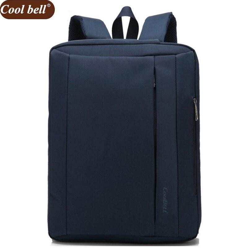 Cool Bell 15 6 Large Space Laptop Shoulder Bag For Notebook Nylon Computer Messenger Bags Women