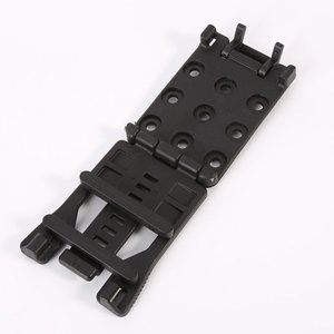 Image 5 - Back Clip Kydex Scabbard Waist Clamp Hunting Camping Belt Clip Gear Multi function K Sheath Accessories