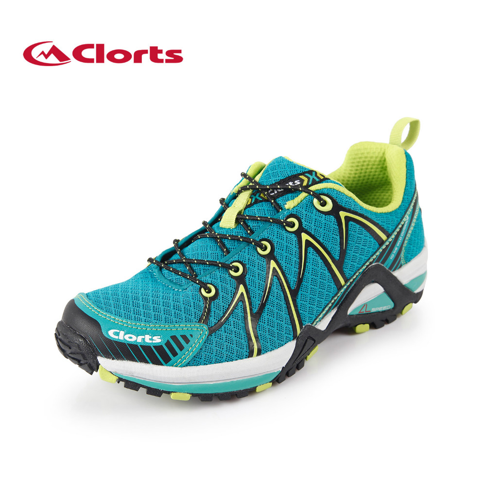 ФОТО 2017 Clorts Men Sport Trail Running Shoes Lightweight Outdoor Sports Shoes For Men Free Shipping 3F016A/B