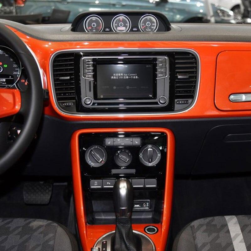 Intérieur Invisible film de protection Pour volkswagen beetle Nouveau Center Console panneau de contrôle Porte TPU Autocollants accessoires de voiture