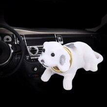 Car Ornaments Automobiles Dashboard Toys Shaking Head Dog Doll Cute Decoration N