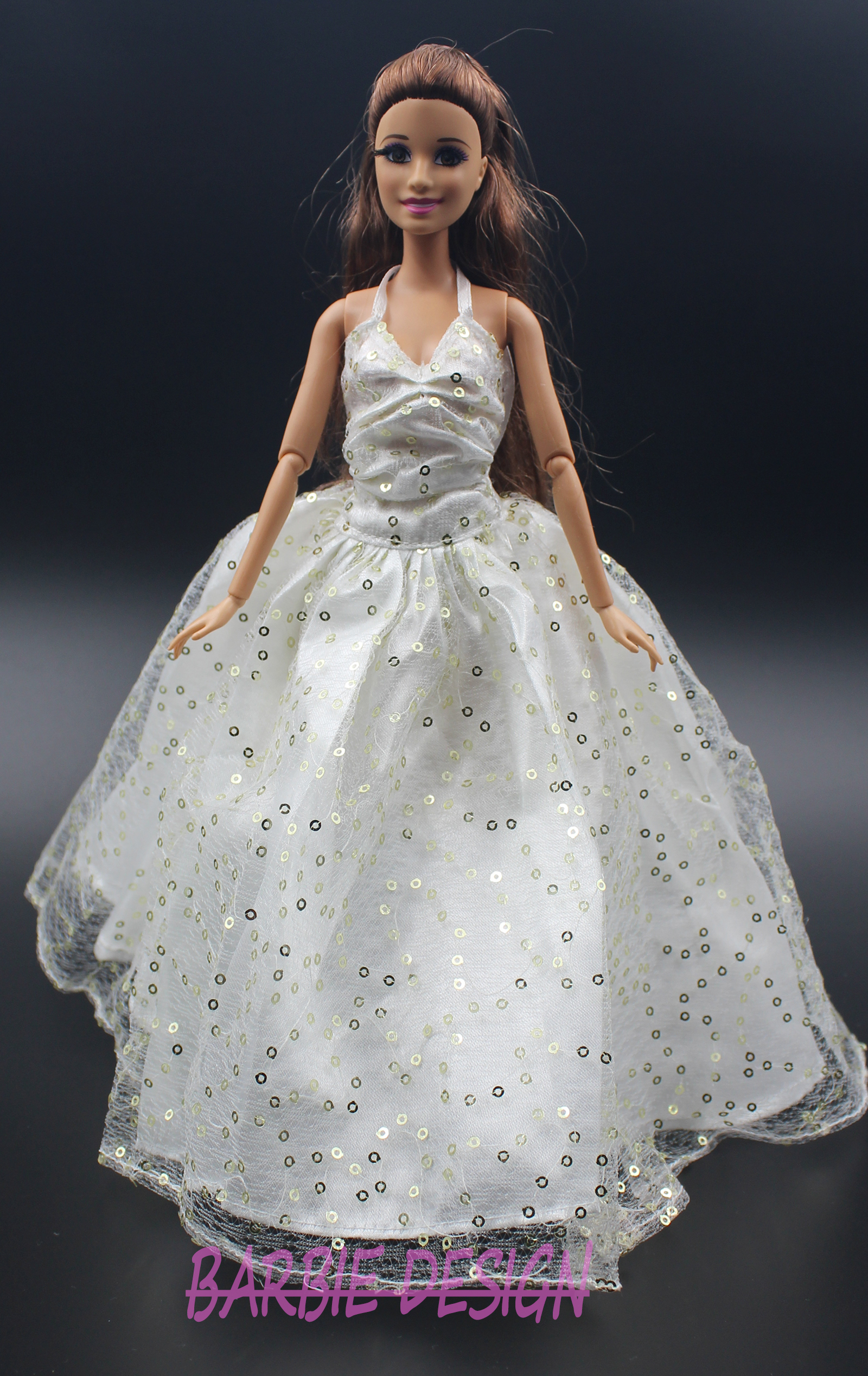 Online buy wholesale barbie bride doll from china barbie for Sell your wedding dress for free