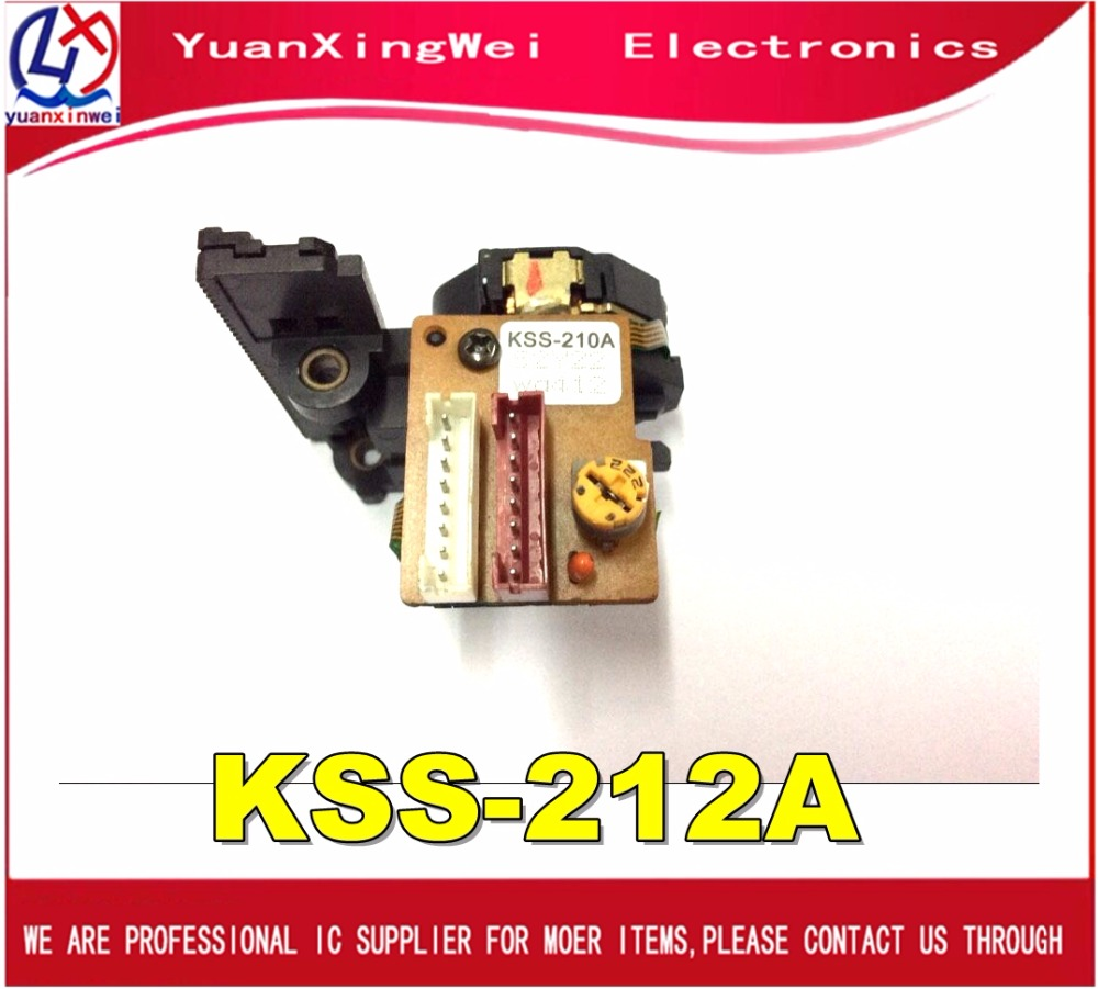 Free Shipping 1pcs NEW OPTICAL PICK-UP LASER Drive KSS-212A KSS-212B KSS-210A KSS 210A 212B KSS-210B KSS-150A KSS150A use in c laser head kss 123a