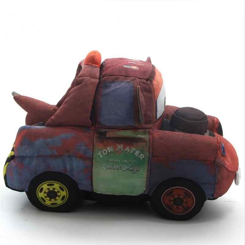 30 см тачки 3 Mater Pixar плюшевые игрушки сделать звук с батареей Мягкие Аниме мультфильм для детей Подарки для детей