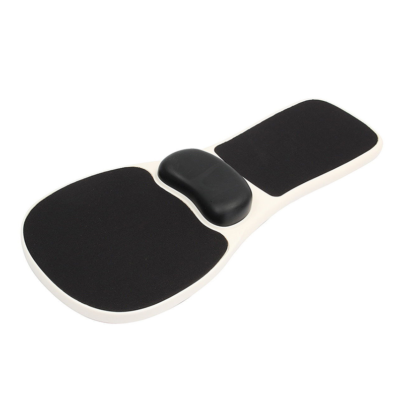 Chair Armrest Mouse Pad Arm Wrist Rest Mosue Pad Ergonomic Hand Shoulder Support Pads EM88 m 009 ergonomic wrist guard mouse pad black page 1