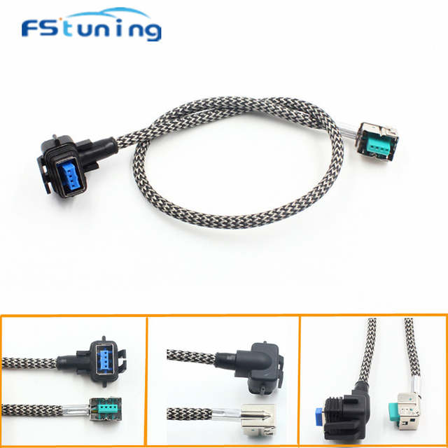 FStuning Car hid xenon Bulb Ballast wire harness relay cable adapter on