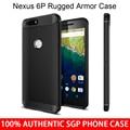 100% Spigen Huawei Nexus 6 P Original resistente armadura TPU gota resistência capa para Google Nexus 6 P