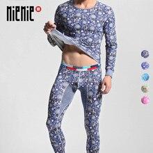 New Fashion Men's Long Johns Thermal Underwear Flower Deer P