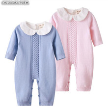 Knitted Baby Romper Autumn Newborn Knitting Baby Cl