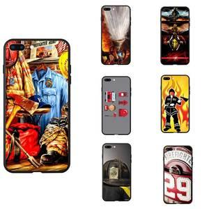 Пожарный ЗНАЧОК оборудования тема логотип ТПУ чехлы для телефонов силикон чехол для iPhone 6 7 8 S XR X Plus 11 Pro Max