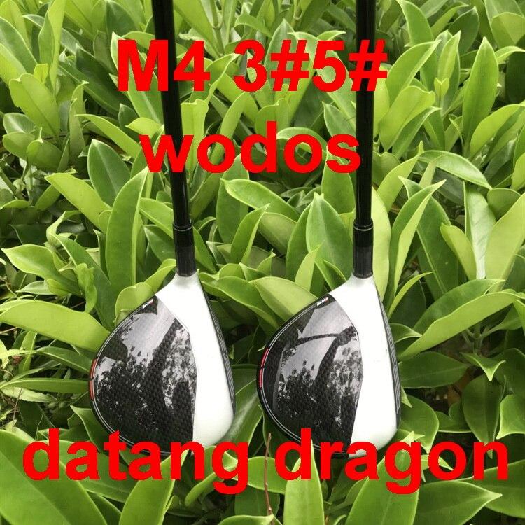 datang dragon M4 golf fairway woods 3 5 with FUBUKI graphite shaft stiff flex headcover 2pcs