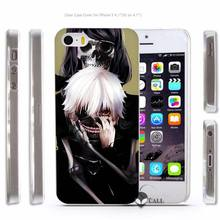 Tokyo Ghouls Hard Transparent Phone Case Cover for Apple iPhone 4 4s 5 5s SE 5C 6 6s 7 Plus – 15