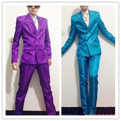 Men Long Casual Trench Coat Streetwear Vintage Fashion Slim Fit Suit Jacket Male Hip Hip Dancer Singer Dj Costume Stage Clothes Dependable Performance Jackets & Coats